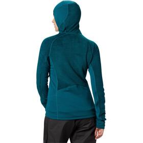 Mountain Hardwear Monkey Grid Hooded Jacket Dame dive